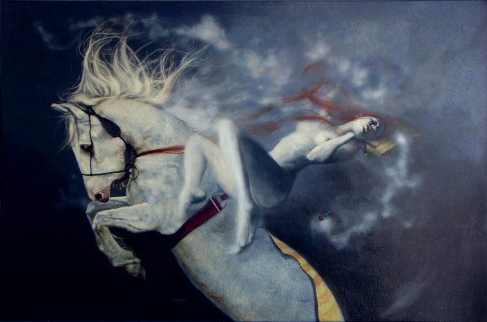 El sueño del caballo la dama y la cereza