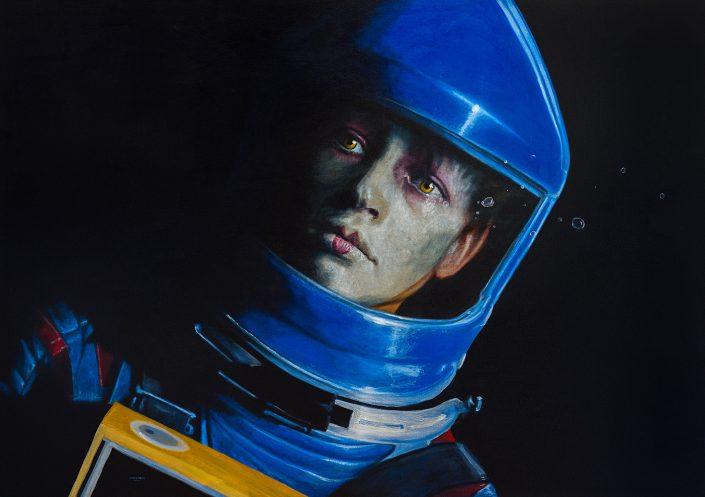 Cosmonauta azul